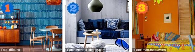 interieur kleuren - kleurencombinaties interieur