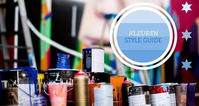 interieur kleuren style guide