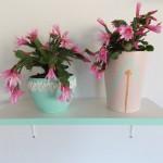 bloempot mintgroen - 13 cm