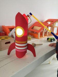 sint maarten lampion raket