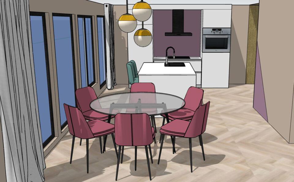 kleuradvies - aanzicht keuken