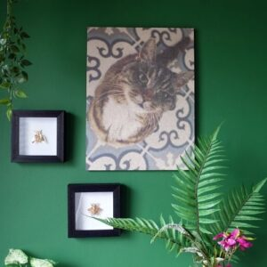 kurkdecoratie in huis