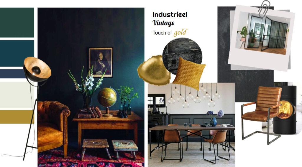 moodboard materiaal- en kleuradvies